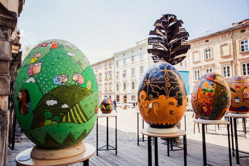 Сьогодні у Львові стартує Фестиваль писанок