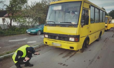 Львівські патрульні перевірили 23 маршрутки на технічну справність