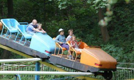 У Парку культури розпочався сезон атракціонів