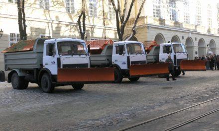 У Львові хочуть відмовитися від піскосуміші проти ожеледиці