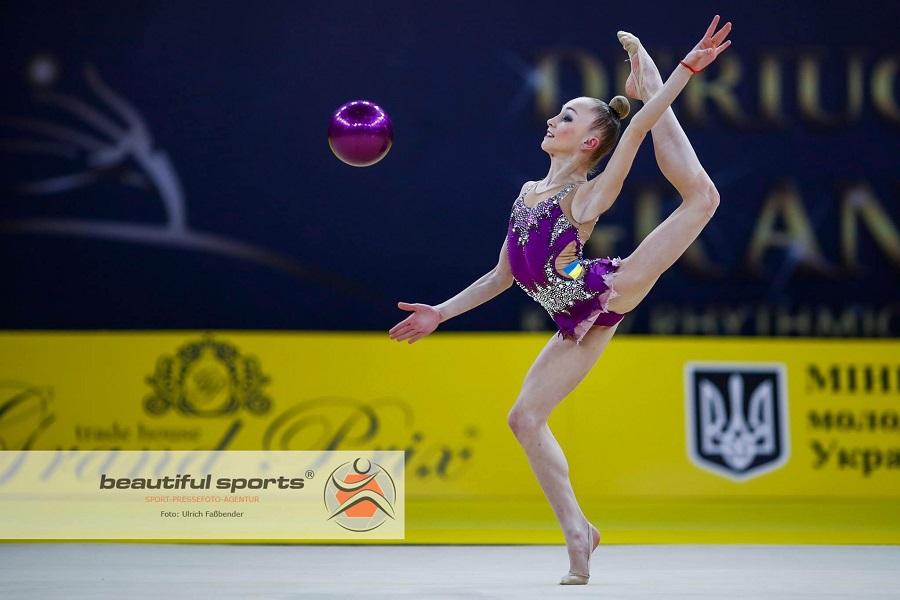 Львівська гімнастка стала чемпіонкою України з художньої гімнастики