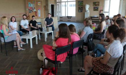 У Центрі Довженка активісти дискутували про Сихів. ФОТО