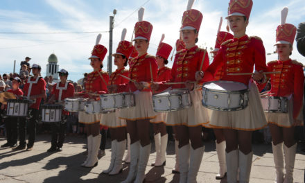 На Сихові понад 600 оркестрантів та мажореток привітали Львів з днем міста. Фоторепортаж