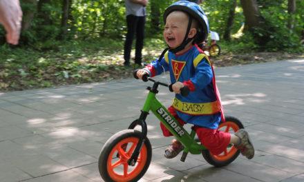 Малеча у сихівському лісопарку  змагалася у велоперегонах (ФОТОРЕПОРТАЖ)
