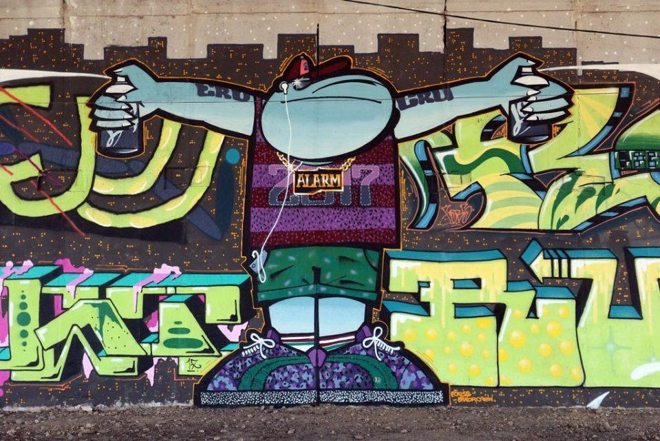 На Сихові пройде графіті-фестиваль «Алярм»