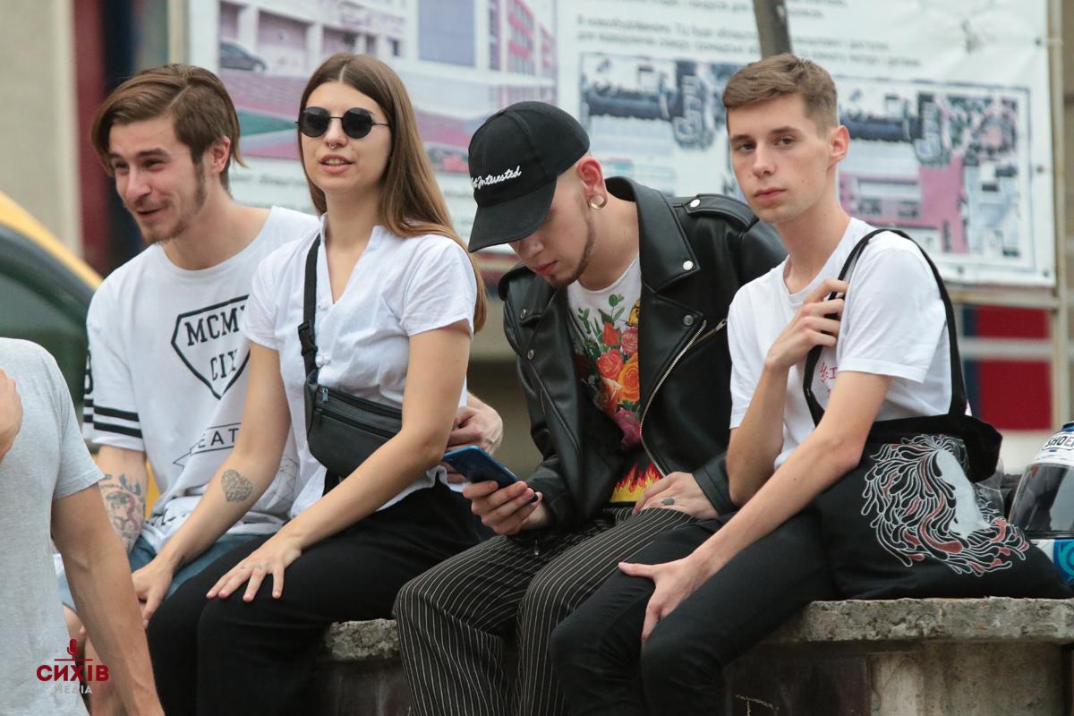 Сети Andriy Amorf Yovbak в рамках Свято музики у Львові, Сквер Гідності, Сихів, Львів, 21 червня 2018