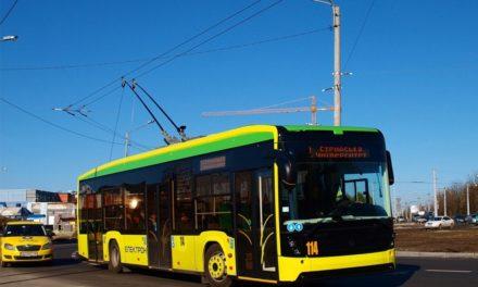 Тролейбуси, що курсують через Сихів, призупинять роботу