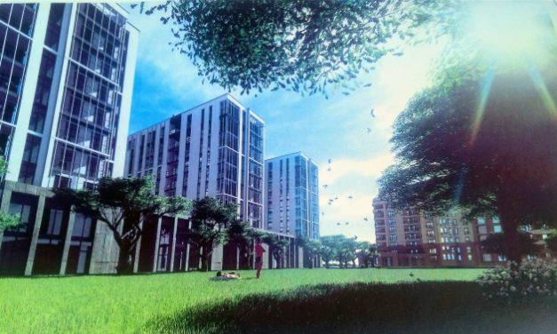 У Сихівському районі зведуть новий житловий комплекс. Візуалізація