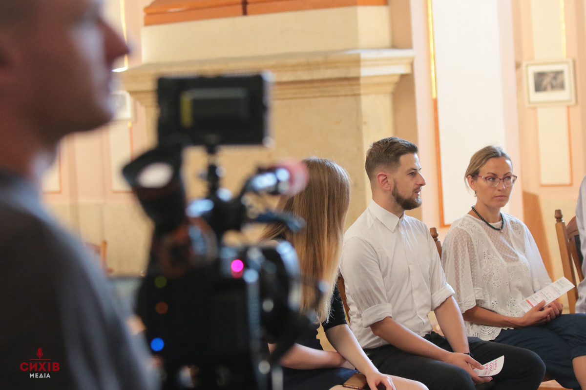 Львівський органний фестиваль, прес конференція, Органний зал, Львів, 14 серпня 2018