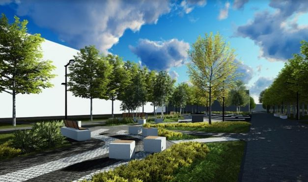 Стала відома компанія, яка облаштовуватиме громадський простір на Гашека