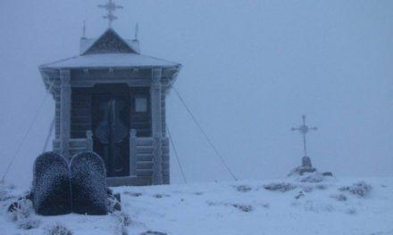 У Карпатах випав сніг. Фото