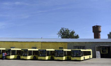 На Сихів почали їздити білоруські автобуси