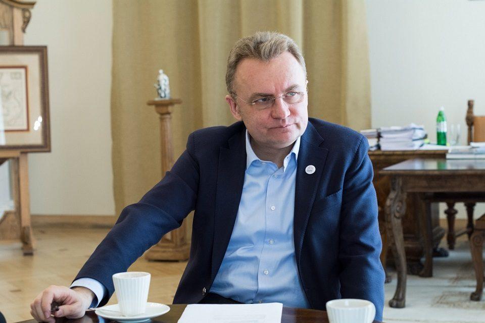 Мер Львова Андрій Садовий іде в президенти. Тепер офіційно