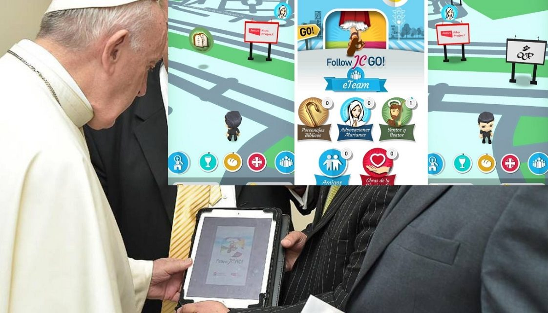 Католики розробили аналог Pokémon Go. Там треба шукати Христа і апостолів