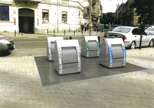 У Львові встановлять перші підземні контейнери для сміття