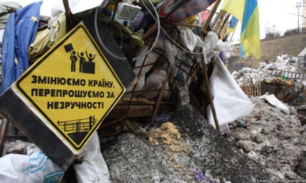 Євромайдан у 2013. П'ять красномовних фото