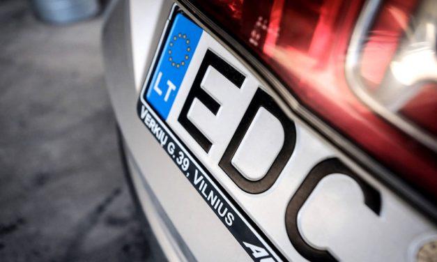 Відсьогодні набули чинності закони про «євробляхи»
