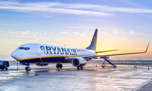 Ryanair оголосив тижневий розпродаж квитків