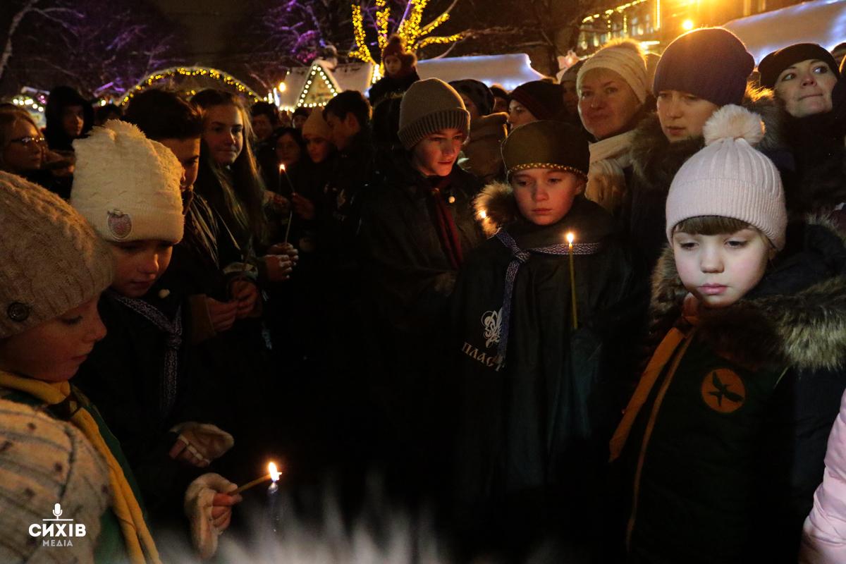 Відкриття міської ялинки, Львів, площа перед Оперним театром,18 грудня 2018