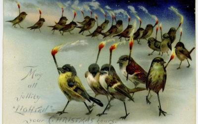 10 непересічних листівок до Нового Року та Різдва часів 19 століття