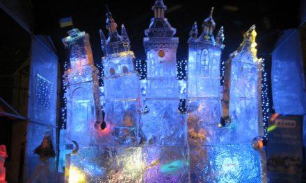 Сьогодні у Львові розпочинається Конкурс льодових скульптур