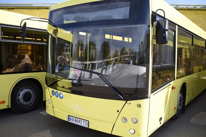 На маршрут № 9 випустять нові автобуси