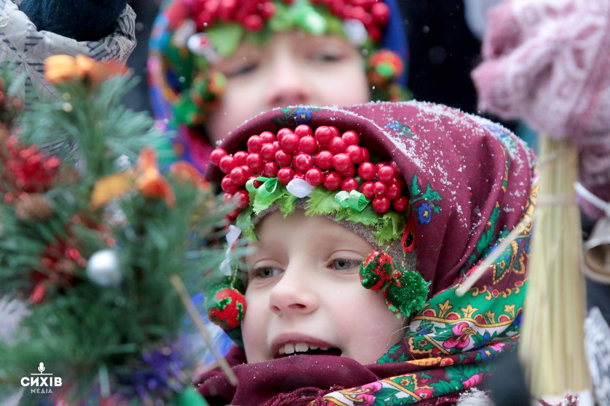 Встановлення Різдвяного Дідуха, Львів, 6 січня 2019