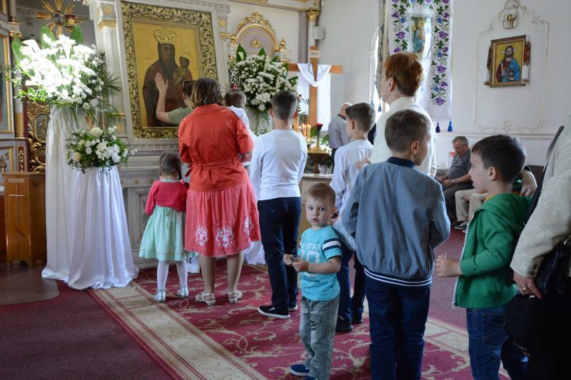 До Львова привезли Чудотворну ікону Зарваницької Божої Матері