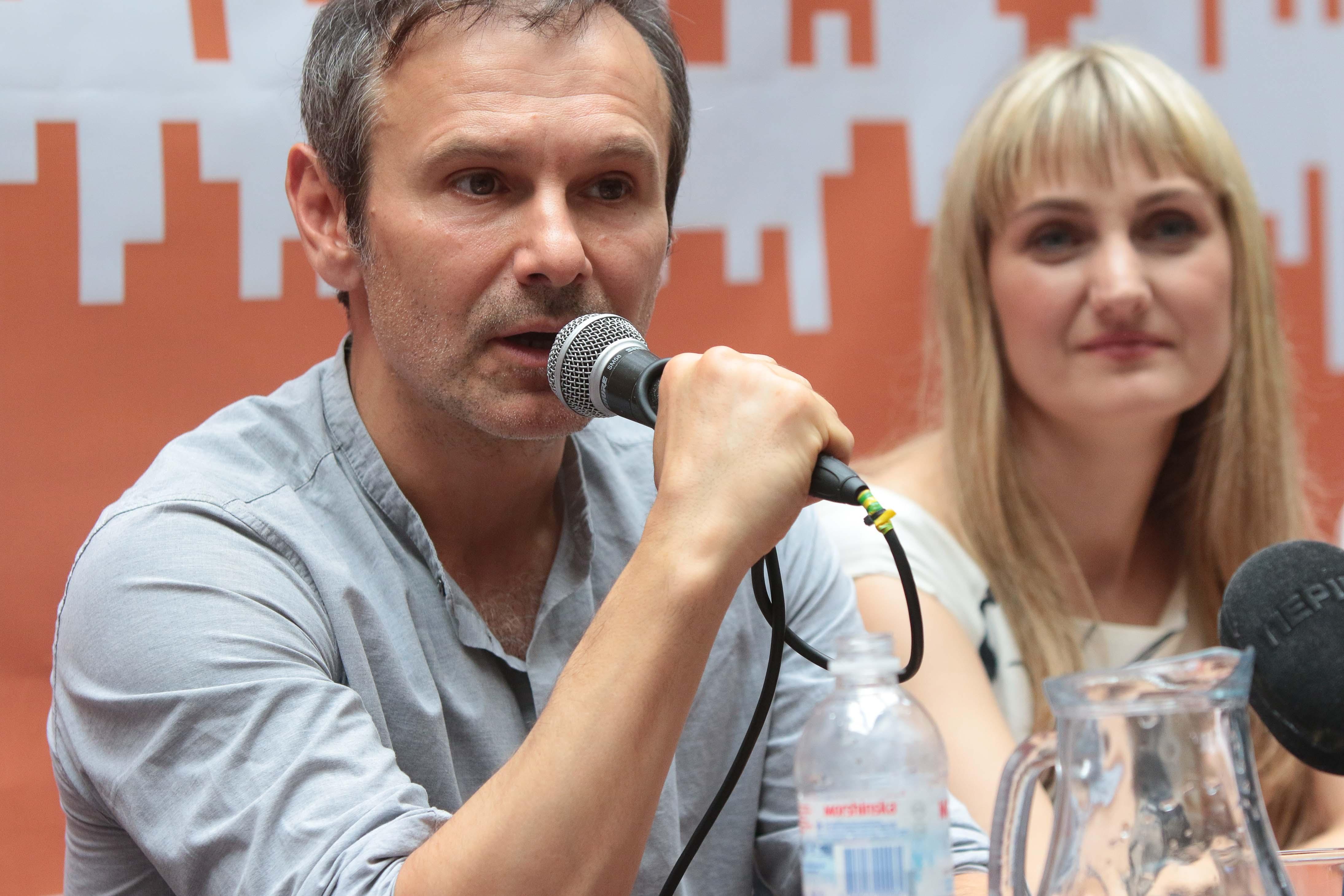 Святослав Вакарчук представив кандидатку до Верховної Ради від Сихова