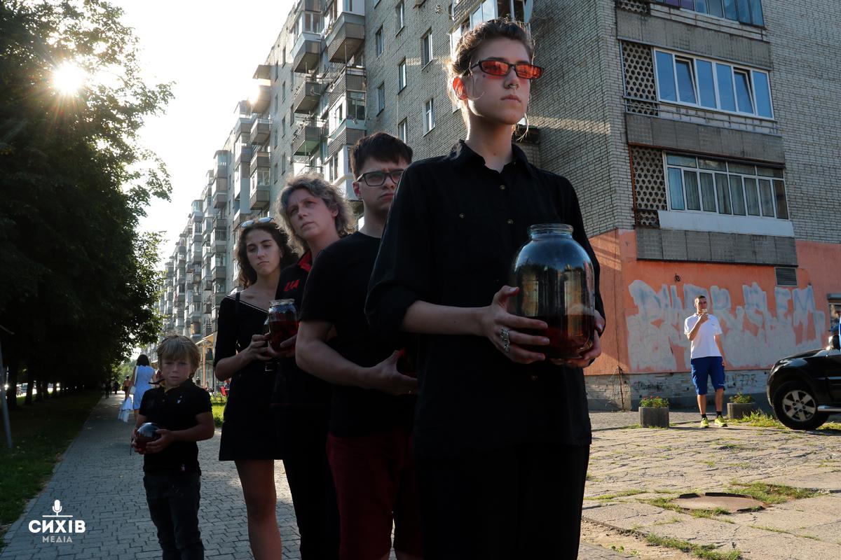 """Акція """"Рибки"""", Львів, 24 липня 2019"""
