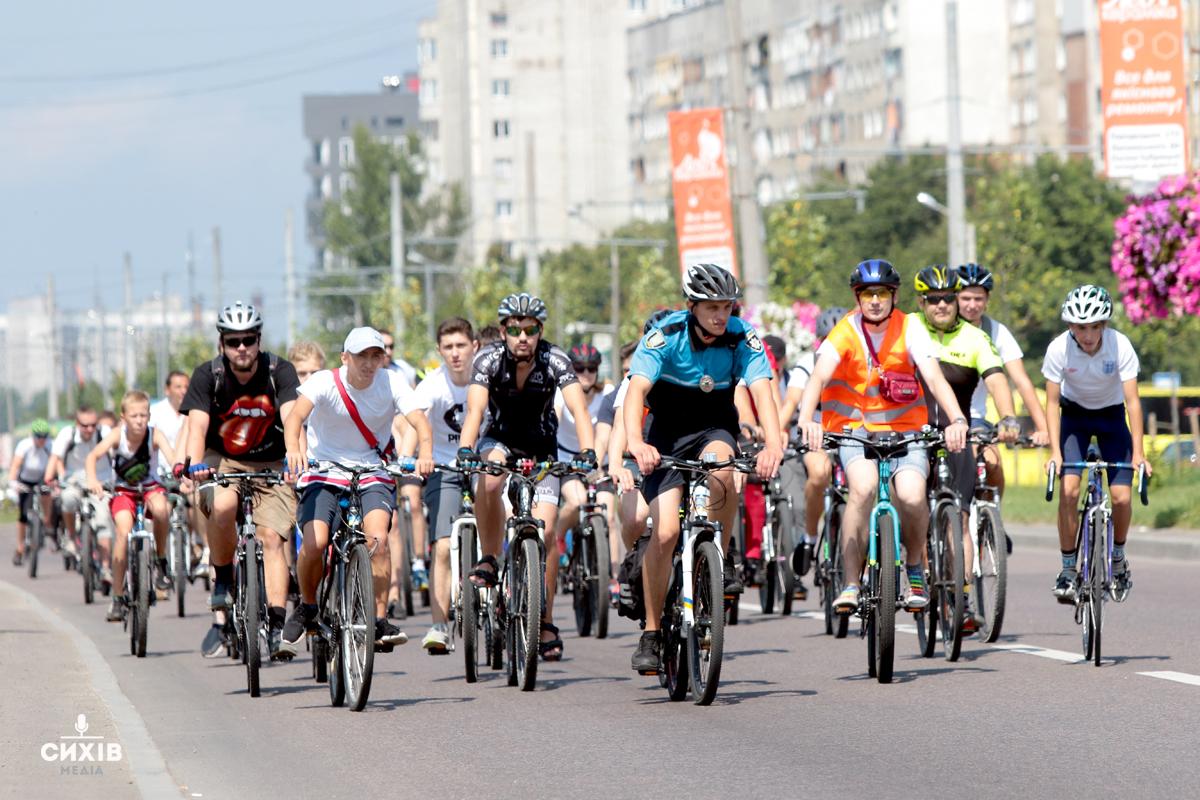 Двоколісний Сихів — фоторепортаж з Першого Сихівського Велопробігу