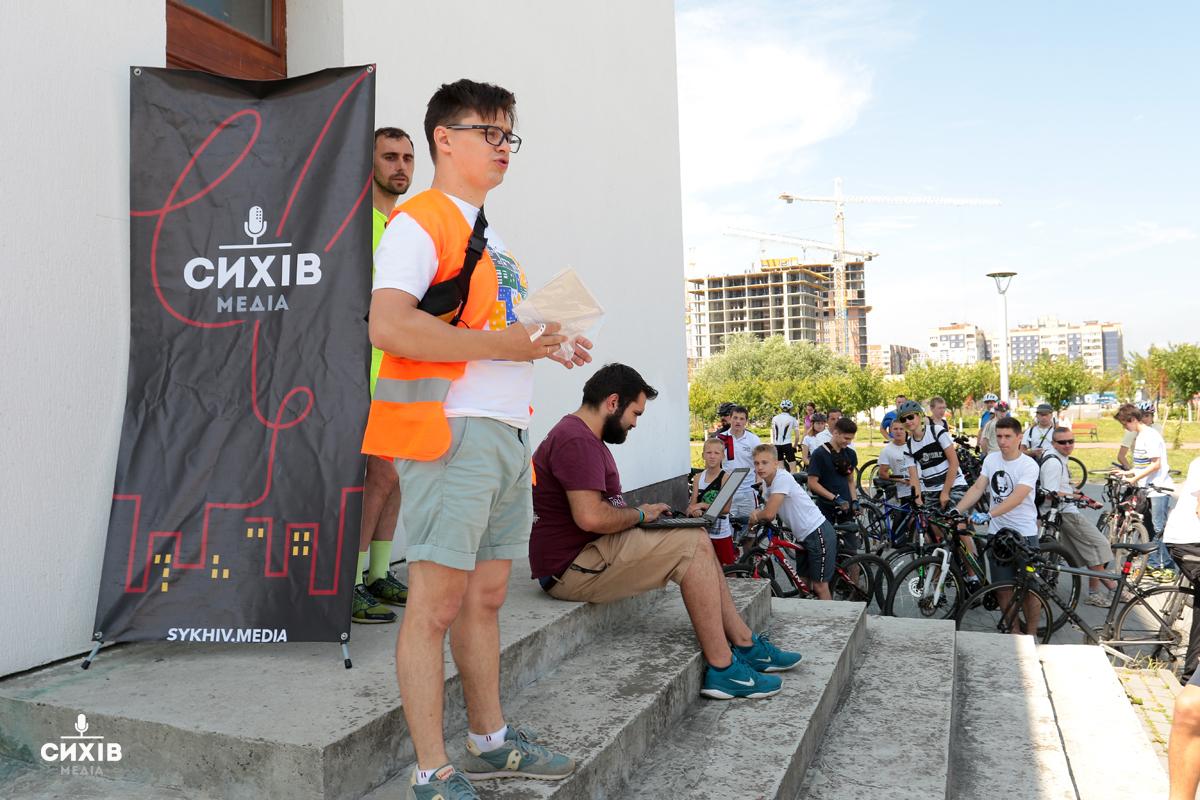 Перший Сихівський велопробіг, Сихів, 27 липня 2019
