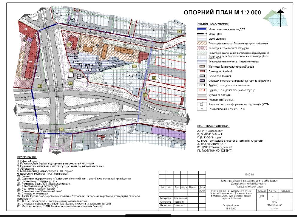 На перехресті Луганської-Червоної Калини планують збудувати багатофункціональний комплекс