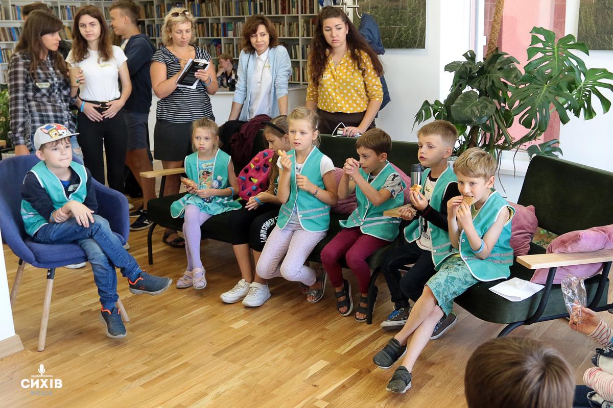 Урбаністи разом з дітьми розробили стратегію розвитку парку Івана Павла ІІ
