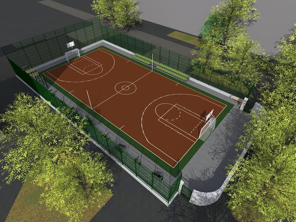 На вулиці Довженка побудують спортивний майданчик вартістю 3 млн гривень
