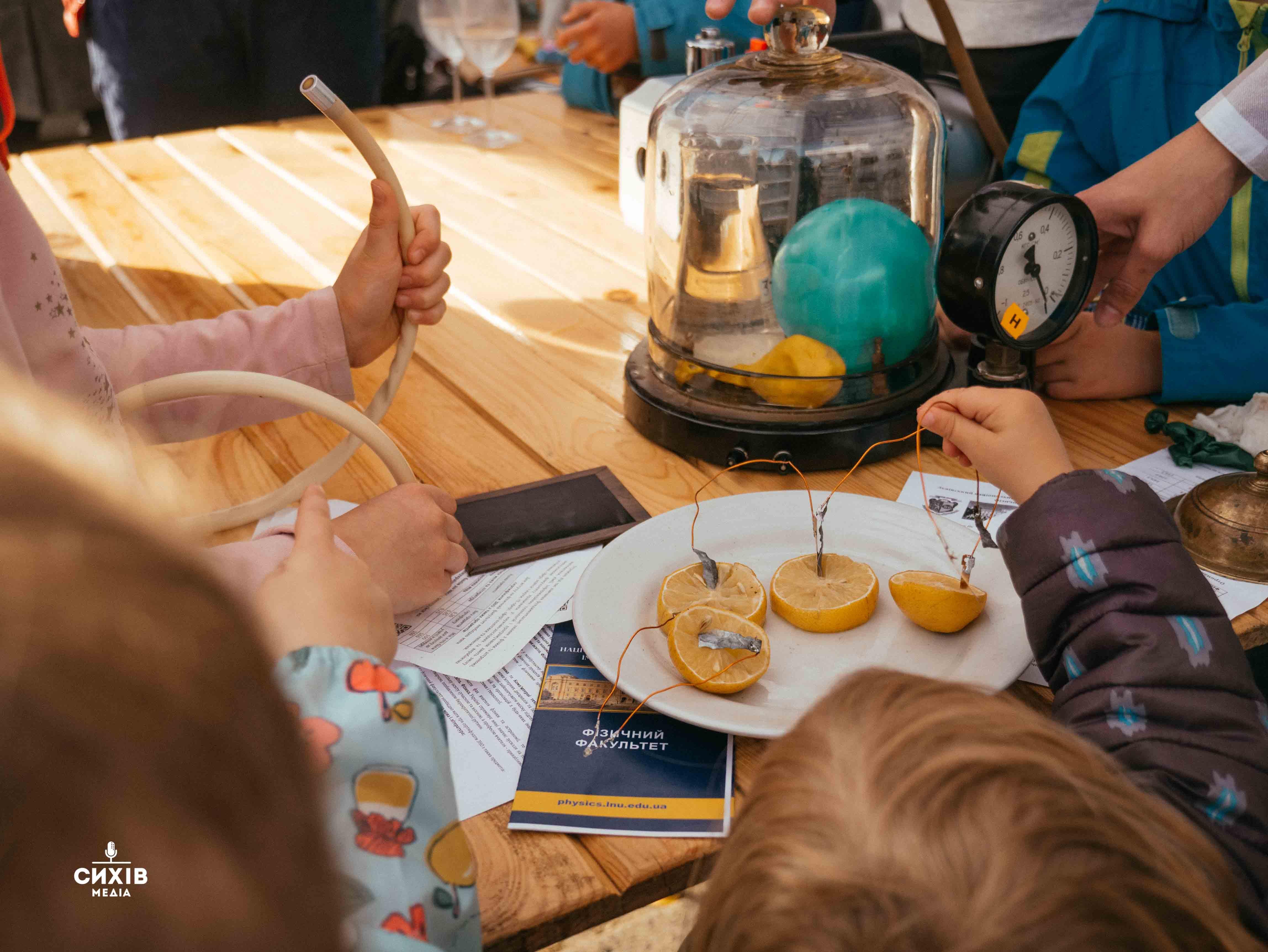 Дослідження мікроорганізмів та наноморозиво: На Сихові пройшов фестиваль «Наукові Пікніки» (фото)