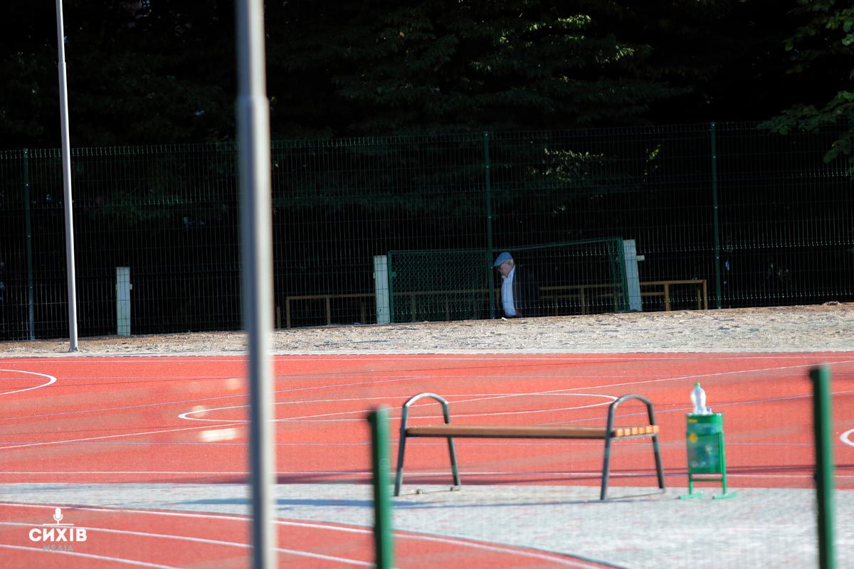 Стадіон біля Оріяни, Сихів, 5 вересня 2019