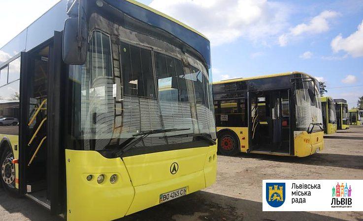 На Сихові запустять відремонтовані великогабаритні автобуси ЛАЗ