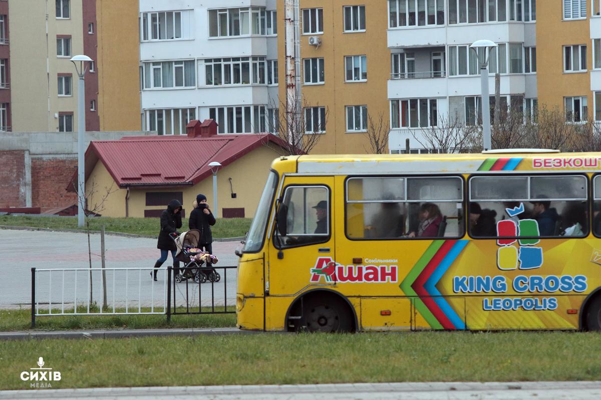 Львівські студенти просять збільшити кількість автобусів з Сихова
