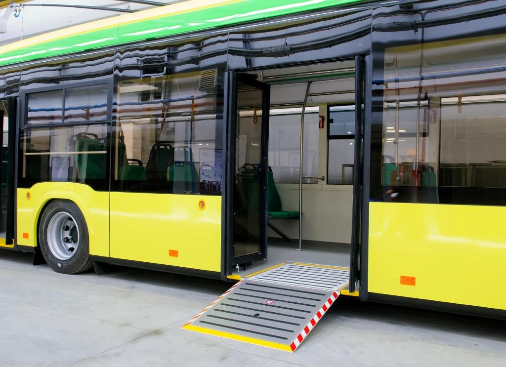 На 32 маршрут виїдуть нові тролейбуси «Електрон»