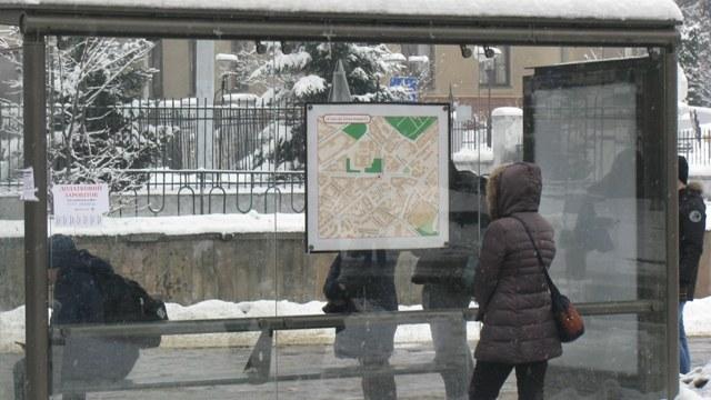 Скляні зупинки на Сихові доглядатимуть за 400 тисяч гривень