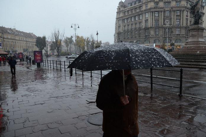 Завтра у Львові синоптики прогнозують ожеледицю та дощ