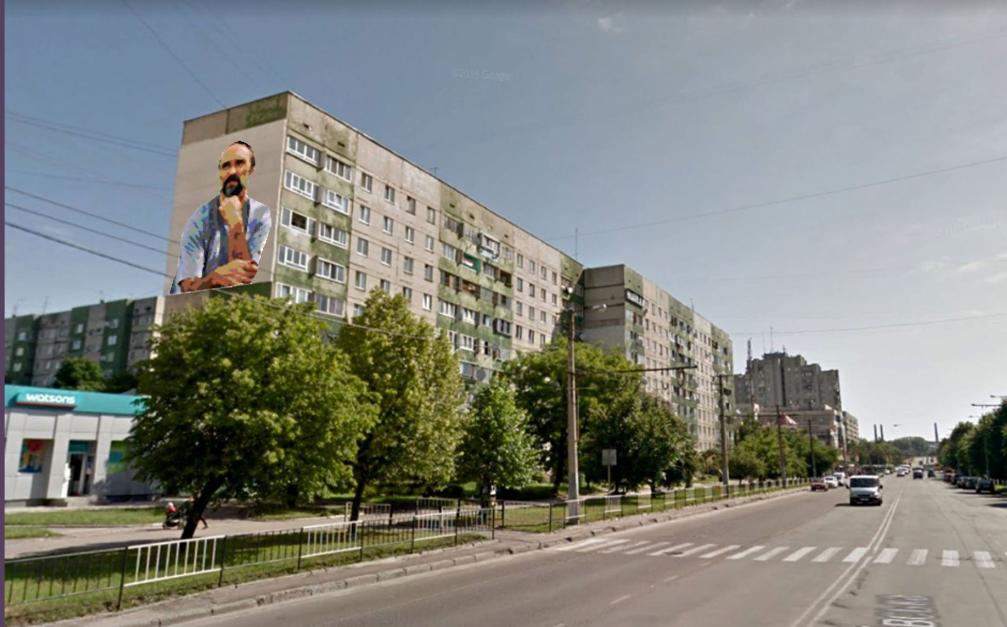Вулицю Сихівську прикрасять муралом