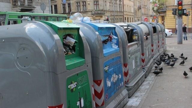 У Львові в період Великодніх свят кількість сміття збільшилась на 35%