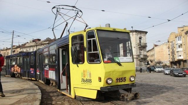 Львівські трамваї модернізують за 3 мільйони євро