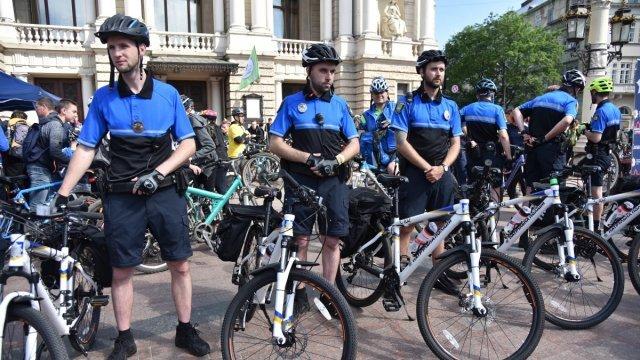 Від сьогодні у Львові відновить роботу велопатруль