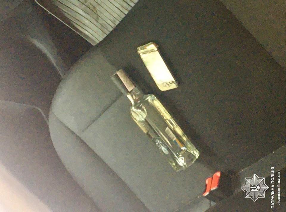 На Сихові злодій невдало поцупив пляшку горілки