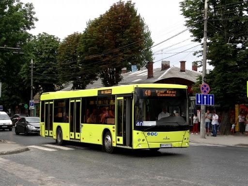 Автобус №40 тимчасово змінив схему руху