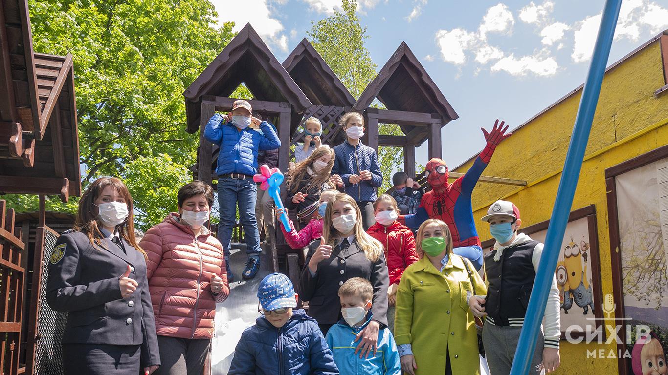 На Сихові до Дня захисту дітей провели свято для дітей з багатодітних сімей