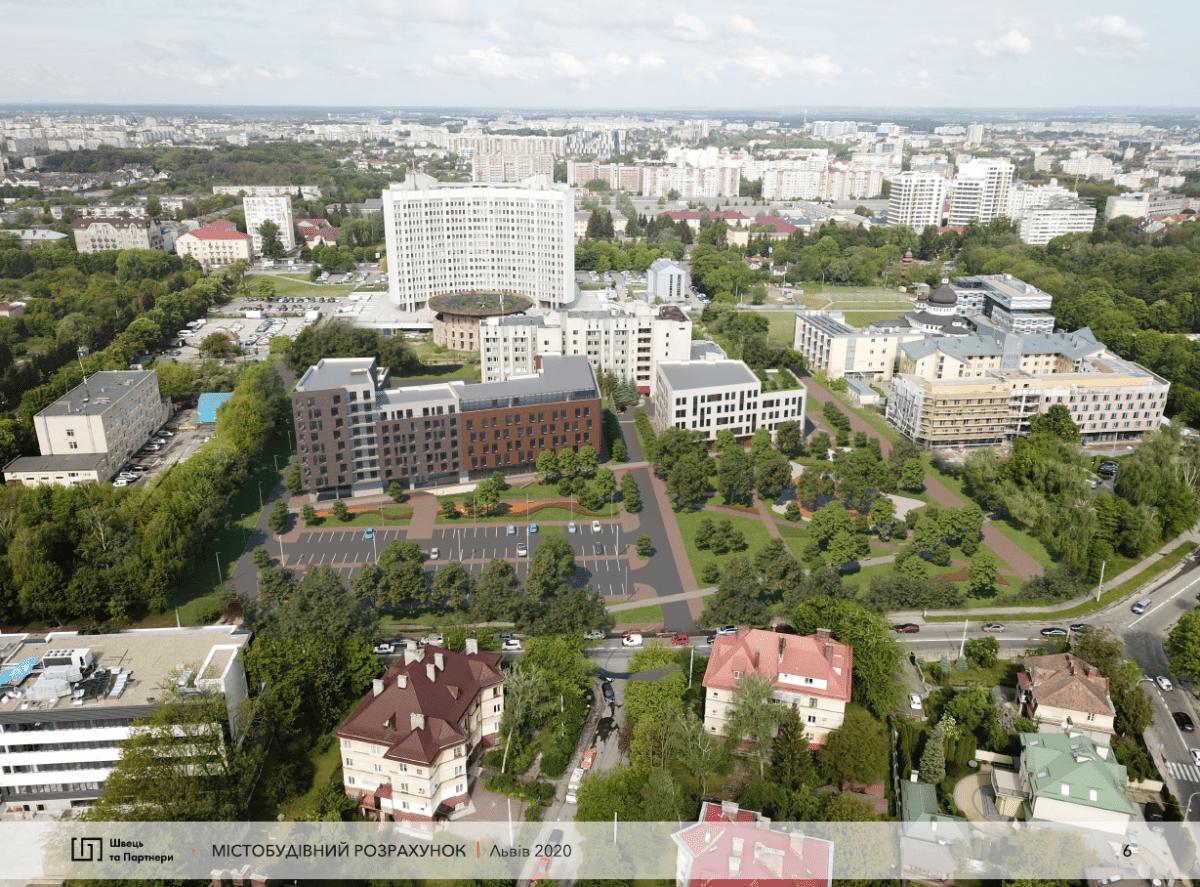В Сихівському районі збудують новий мультифункціональний простір